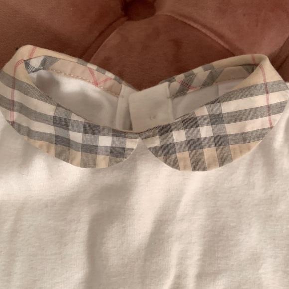 Burberry Boys Girls Nova Check Onesie Shirt